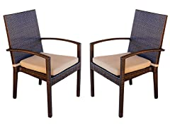 Palmer Outdoor Dining Armchair Set