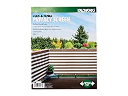 Deals on IdeaWorks Deck and Fence Privacy Screen 15-ft. x 3-ft.