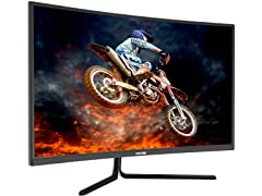 "VIOTEK 144Hz 32"" Curved Gaming Monitor (Open Box)"
