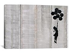 Flying Balloons Girl