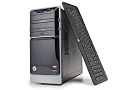 HP Quad-Core Desktop with 1TB HD