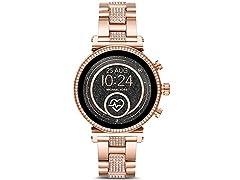 MK Gen 4 Sofie HR Two-Tone Smartwatch