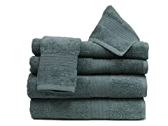 6Pc Towel Set-Ocean