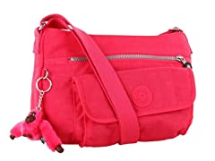 Syro Shoulder Bag, Vibrant Pink