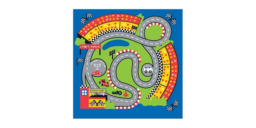 Pit Stop Tent With Race Mat Playhouse Kids Amp Toys