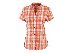 Women's Penelope Button Down - Geranium Plaid