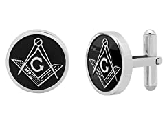 Stainless Steel Masonic Cufflinks