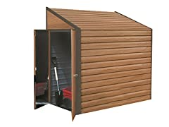 4' x 7' Steel Yardsaver Shed