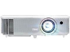 Optoma W331 WXGA Widescreen 3D DLP Projector