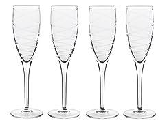 Luigi Bormioli Romantica Champagne S/4