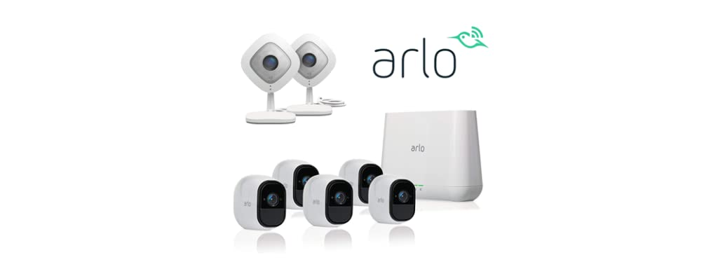 Arlo Q and Pro 2 Security Systems - Your Choice