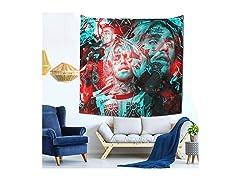 L-i-l Singer Tapestry Wall