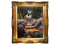Monet - Garden Path at Giverny : 20X24