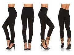 2-Pack Women's Fleece Leggings
