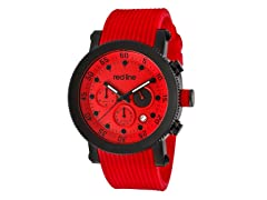 Red Line 18101VD-05-BB-RD-ST Compressor Chronograph IP