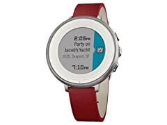 Pebble Time Smartwatch - iOS & Android Compatible