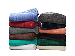 Superior 100% Microfiber Fleece Blanket
