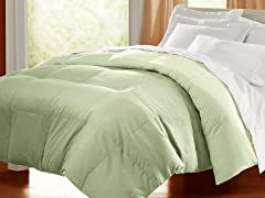 Egyptian Cotton Down Alternative Comforter - Sage