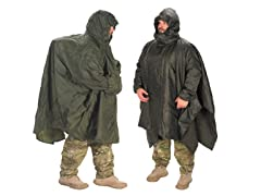 Patrol Poncho and Poncho Liner Bundle