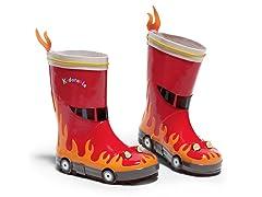 Fireman Rain Boots (11 & 12)