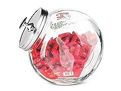 Glass Candy Jar Large
