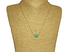 Urban Turquoise Charm Necklace