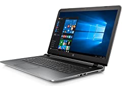 "HP 17.3"" AMD A8 Quad-Core 1TB Laptop"