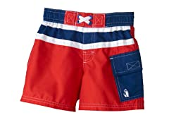 Swim Trunk - Red (5-6)