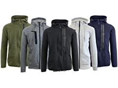 Mens Heavyweight Tech Fleece Hoodie 2P