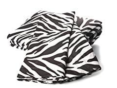 MicroFlannel King Set - Zebra