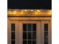 Droplite Solar 100 LED Curtain String Light