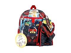 LEGO LNCF519ZA Ninjago Backpack 5pc Set