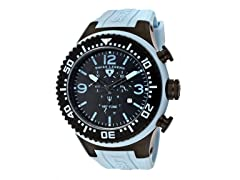 Men's Neptune Chronograph, Black / Blue