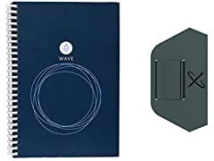 Rocketbook Wave Executive Notebook with Pen Station
