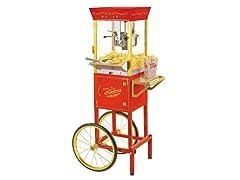 Nostalgia Circus-Cart Popcorn Maker