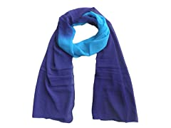 Tie Dye Wrap Purple & Aqua