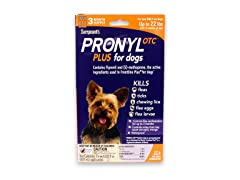Pronyl Plus OTC for Dogs 3 Month- 22 lbs