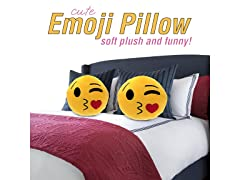 "Large 14"" Emoji Pillow, Your Choice"