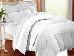 Down Alternative Comforter White 3 Sizes