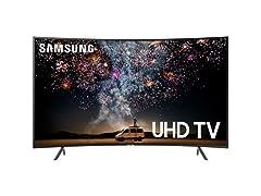 "Samsung 55"" RU7300 Curved Smart 4K UHD TV"