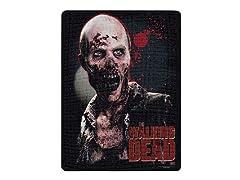 Walking Dead Fleece Throw - Zombie