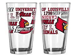 Louisville Spirit Pint Glasses (2)
