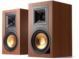 Klipsch R-15PM Powered Speakers- Cherry (Pair)