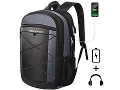 SEEHONOR Travel Laptop Backpack USB Port