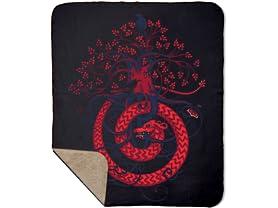 Nidhogg Sherpa Blanket