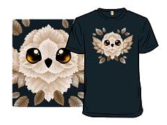 Flying Owl of leaves