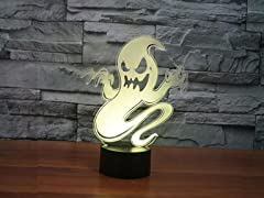 Spooky Halloween 3D Decorative Lights