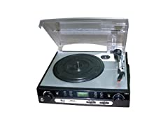 Pyle Upgraded Vintage Record Player