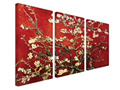 Almond Blossom Red - Van Gogh (2 Sizes)