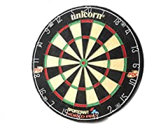 Unicorn World Pro Bristle Dartboard